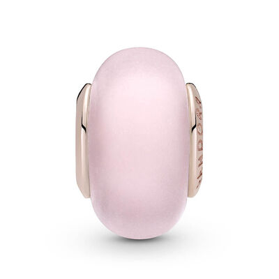 Pandora Rose™ Matte Pink Murano Glass Charm