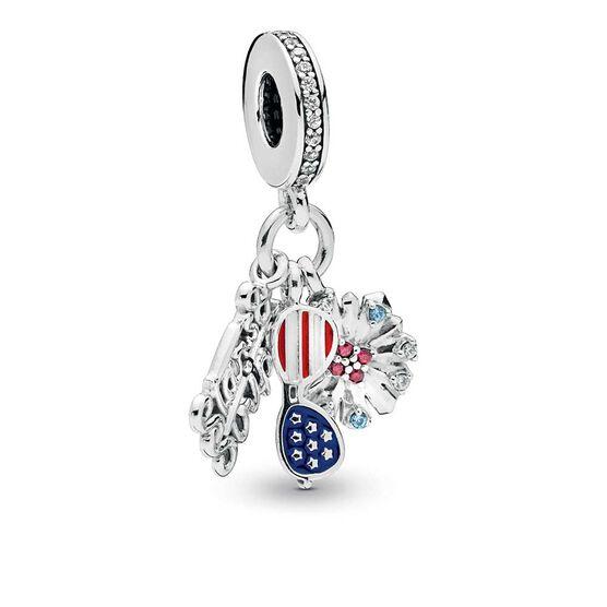 Pandora American Icons Dangle CZ & Enamel Charm