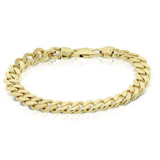 Toscano Miami Cuban Curb Chain Bracelet 14K