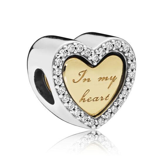 Pandora Shine™ In My Heart CZ Split Charm