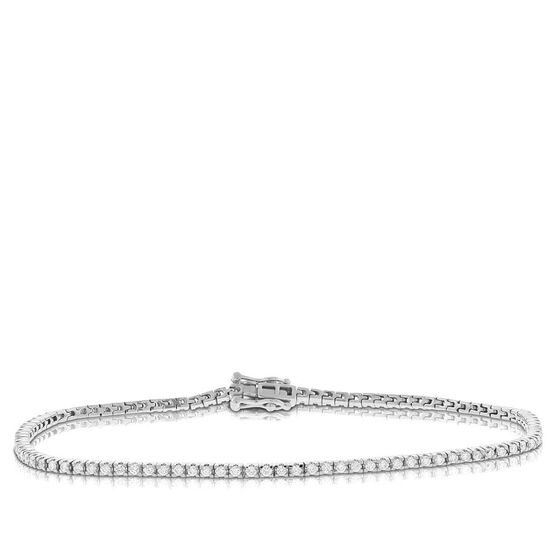 Diamond Tennis Bracelet 14K
