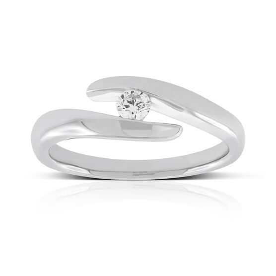 Diamond Bypass Ring 14K
