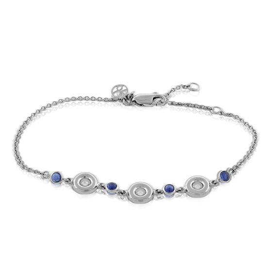 Lisa Bridge Sapphire Bubble Bracelet