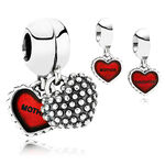 PANDORA Red Piece Of My Heart Charm