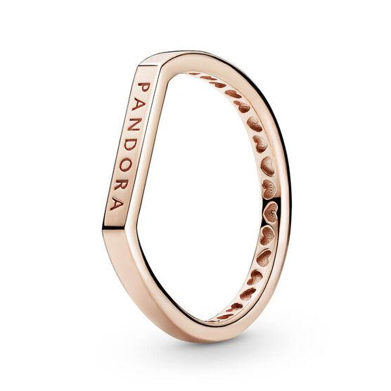 Pandora Logo Bar Stacking Ring