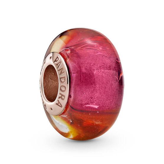 Pandora Rose™ Glittering Sunset Murano Glass Charm