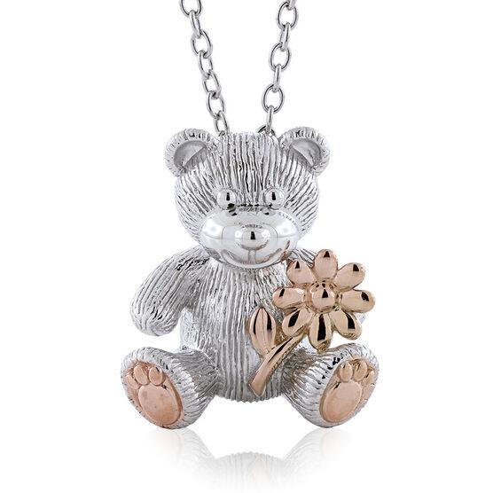 2018 Rose Gold Benny Bear Pendant