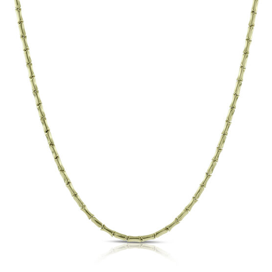 Toscano Stampato Link Necklace 14K, 24""