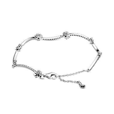 Pandora Sparkling Daisy Flower CZ Bracelet