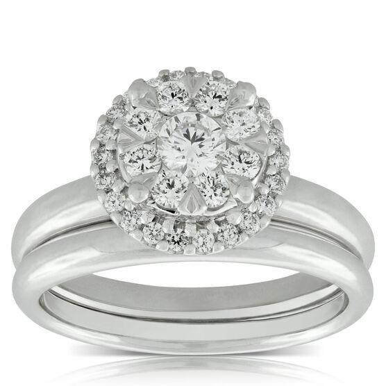 Love Eternal Diamond Bridal Set 14K, 2/3 ctw.