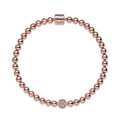 Pandora Rose™ Purely Pandora Beads & Pavé CZ Bracelet