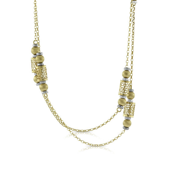 Toscano Filigree Necklace 14K