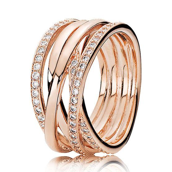 PANDORA Rose™ Entwined Ring