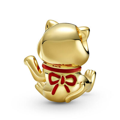 Pandora Shine™ Cute Fortune Cat Enamel Charm