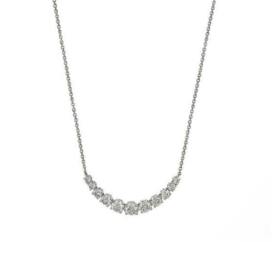 Graduated Diamond Necklace 14K