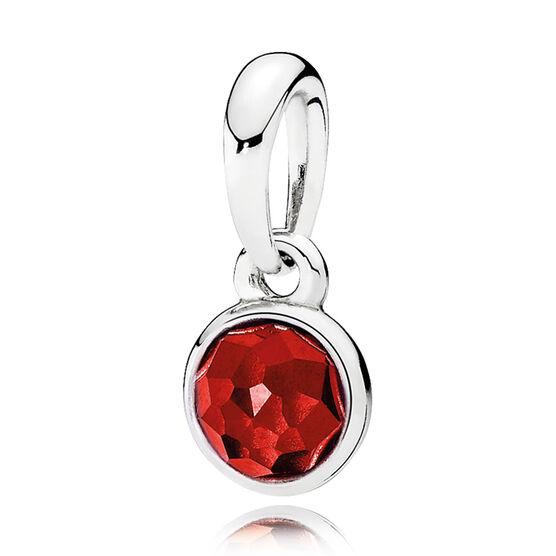 Pandora July Droplets Pendant 390396sru Ben Bridge Jeweler