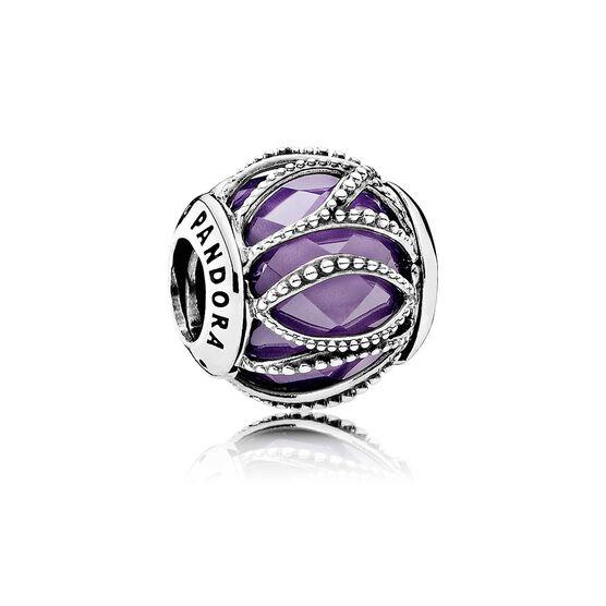 PANDORA Intertwining Radiance Purple Charm