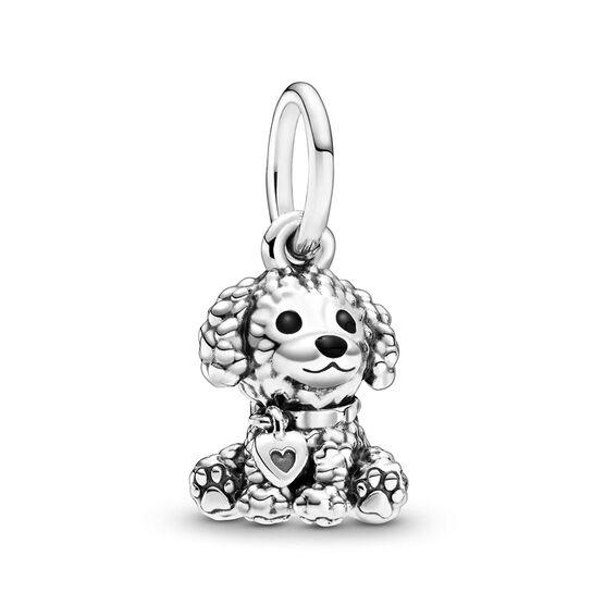Pandora Passions Poodle Puppy Dog Dangle Charm