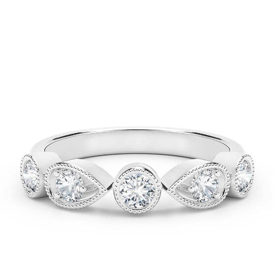 The Forevermark Tribute™ Collection Diamond Band 18K