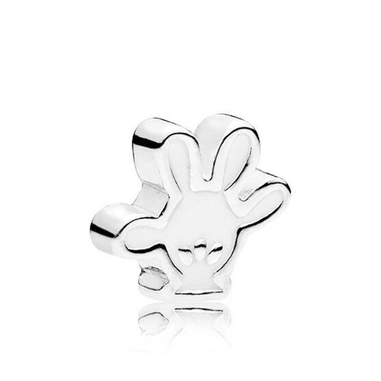 PANDORA Disney, Mickey Glove Enamel Petite Locket  Charm