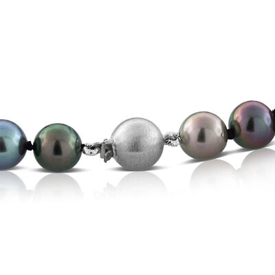Cultured South Sea Tahitian Pearl Necklace 14K