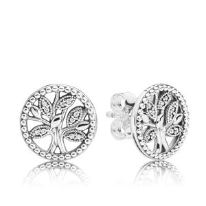bad1e2f4b PANDORA Curved Grains Earrings - 297730 | Ben Bridge Jeweler