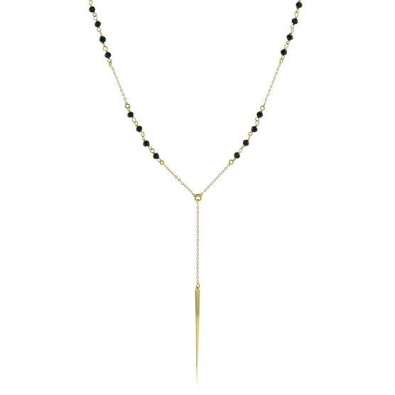 Lisa Bridge Spinel Drop Necklace 14K