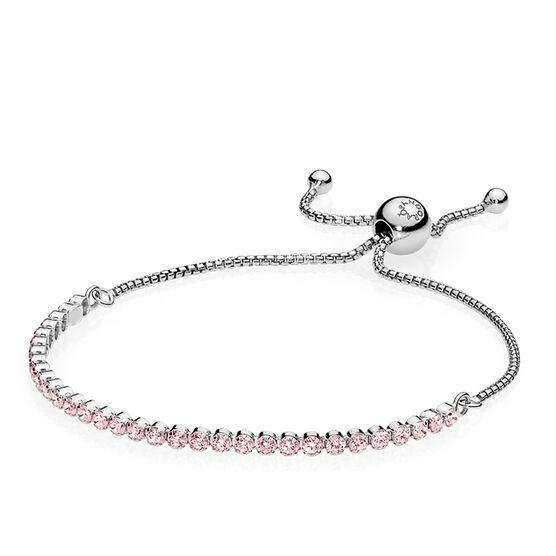 Pandora Pink Sparkling CZ Strand Bracelet