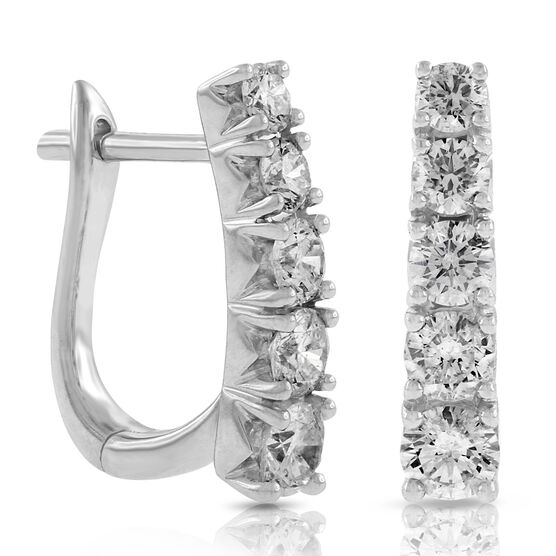 Graduated Diamond Earrings 14k Ben Bridge Jeweler