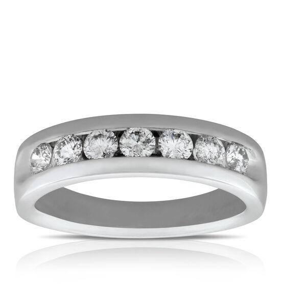 Men's Diamond Wedding Band 14K, 1 ctw.