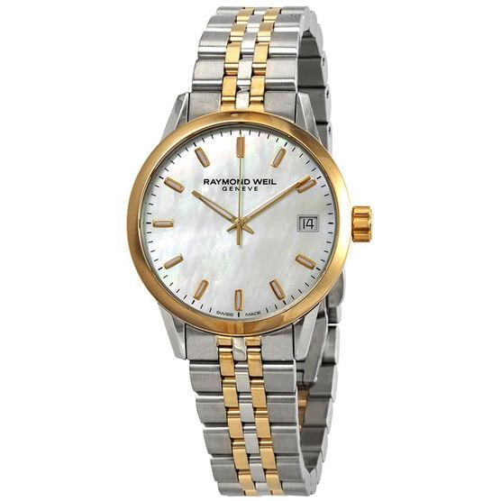Raymond Weil Freelancer Lady's Two Tone Watch