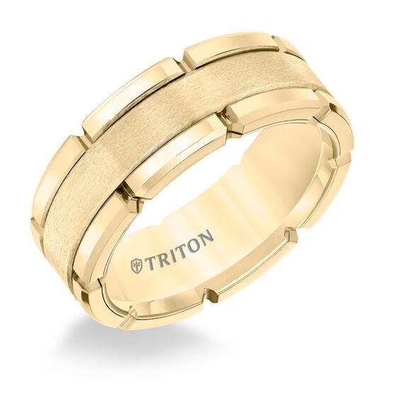 TRITON Yellow Tungsten Band