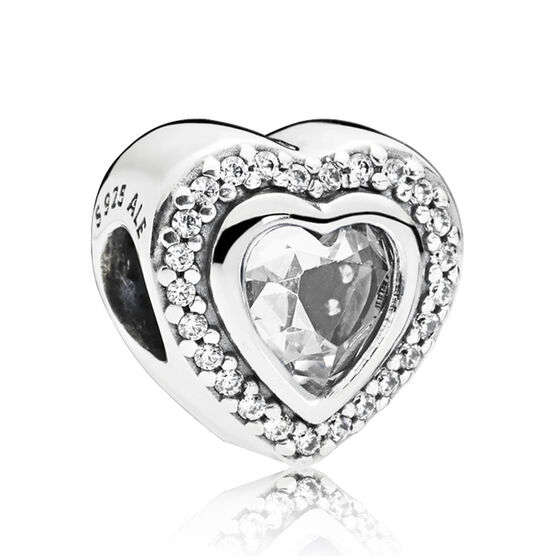 Pandora Sparkling Love CZ Charm