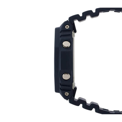 G-Shock Black Octogon Bezel Watch, 48.5mm