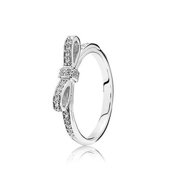 Pandora Sparkling Bow CZ Ring