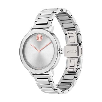 Movado Bold Pink Hand Watch