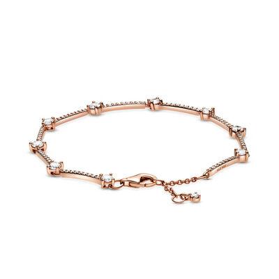 Pandora Rose™ Sparkling Pavé CZ Bars Bracelet