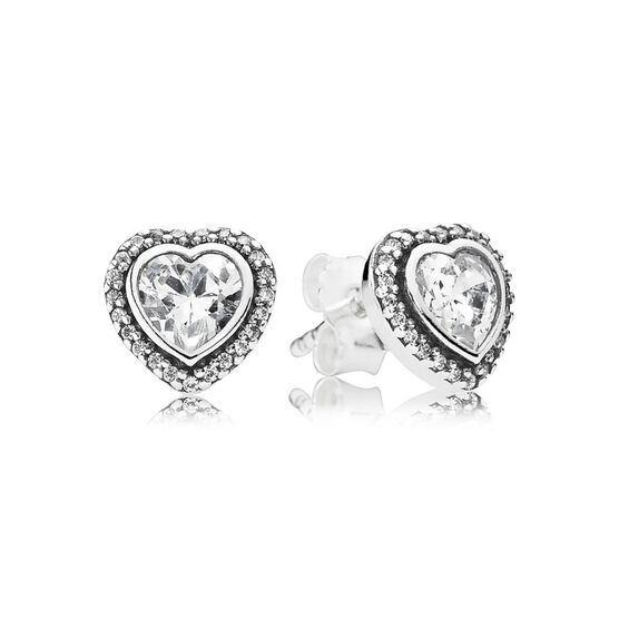 PANDORA Sparkling Love Earrings
