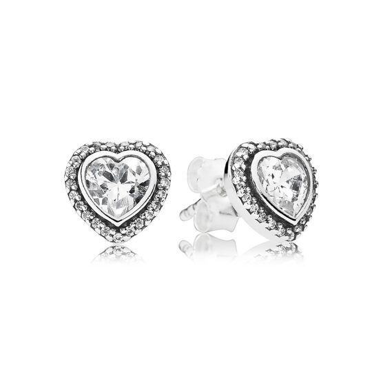 PANDORA Sparkling Love Earrings