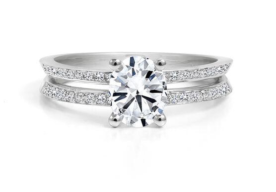 Forevermark Black Label 7/8 ct. Oval Cut Engagement Ring 18K