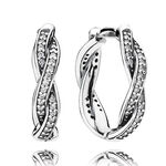 PANDORA Twist of Fate Earrings