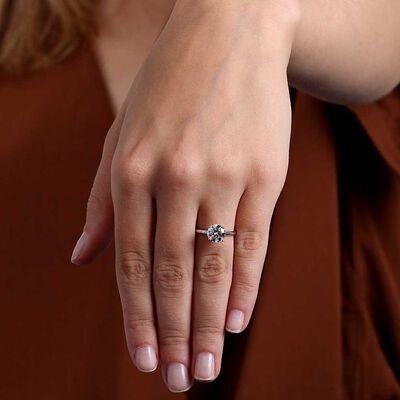 Ikuma Canadian Diamond Solitaire Ring 14K, 2 ct.