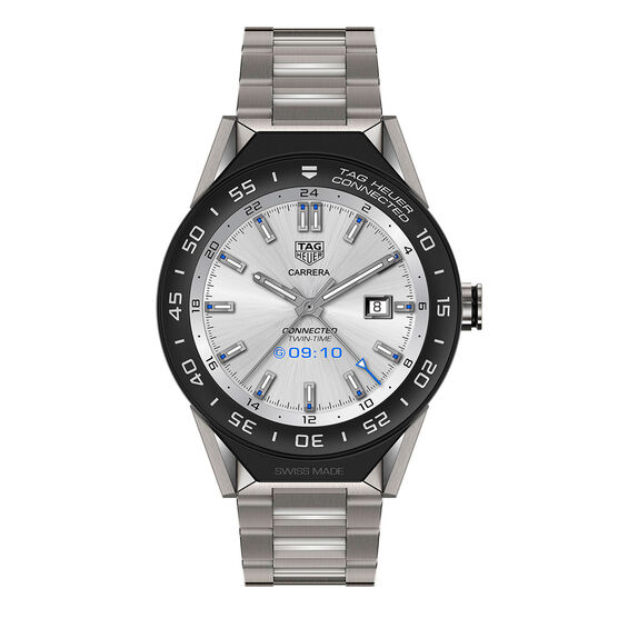 TAG Heuer Connected Smart-Watch, Titanium Bracelet