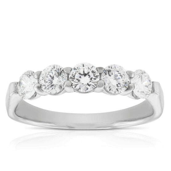 Signature Forevermark 5-Stone Diamond Band 18K, 1ctw.