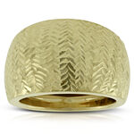 Toscano Domed Ring 14K