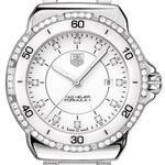 TAG Heuer Formula 1 Quartz White Ceramic & Diamond  Watch