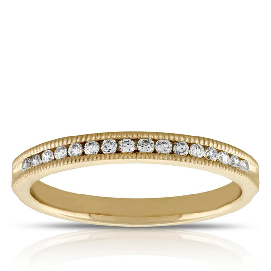 Diamond Ring 14K, 1/7 ctw.