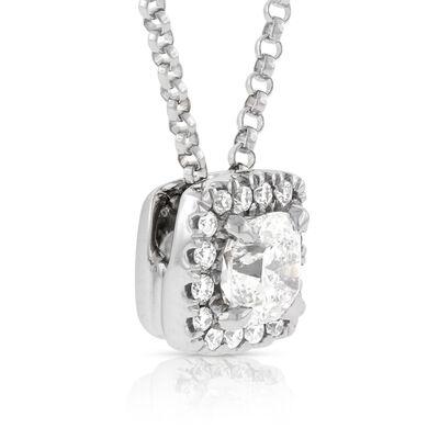 Signature Forevermark Diamond Center of My Universe Pendant 18K
