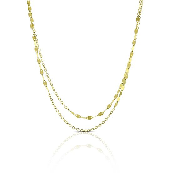 """'Luce' Link Chain 14K, 36"""""""