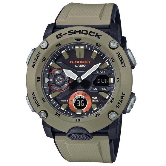 G-Shock Analog / Digital GA-2000 Carbon Core Guard Watch